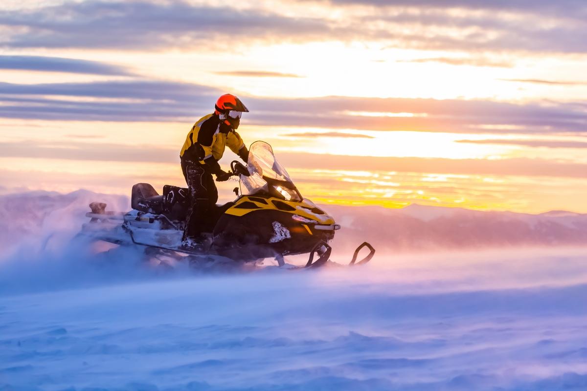 Snøscooterulykke - erstatning etter personskade